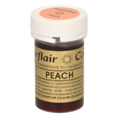 Sugarflair Paste Colour PEACH, 25g
