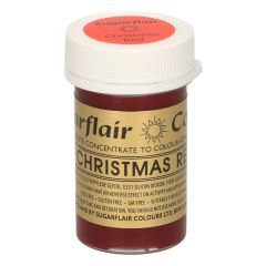 Sugarflair Paste Colour CHRISTMAS RED, 25g