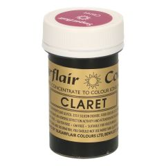 Sugarflair Paste Colour CLARET, 25g