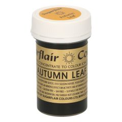 Sugarflair Paste Colour AUTUMN LEAF, 25g