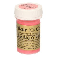 Sugarflair Paste Colour FLAMINGO PINK, 25g