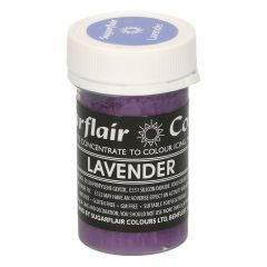 Sugarflair Paste Colour Pastel LAVENDER, 25g