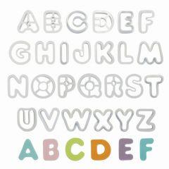 PME Cortadores con Formas de Alfabeto Set/26