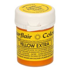 Sugarflair - Max Concentrate Paste Colour YELLOW EXTRA 42g