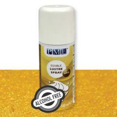 PME Alcohol Free Lustre Spray - Gold 100ml