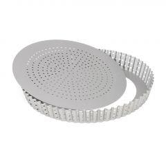 Patisse Silver-Top Molde Quiche Perforado Extraíble  Ø24cm
