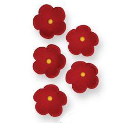 PME Flores Medianas Rojas, 30 unidades