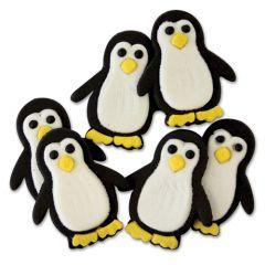PME Decoraciones Comestibles - Pingüinos, 6 ud.