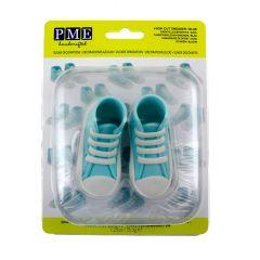 PME Topper Comestible Zapatillas Deporte Azul