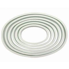 PME Cortadores Ovalados Plástico Set/6