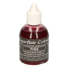 Sugarflair Airbrush Colouring -Pink- 60ml