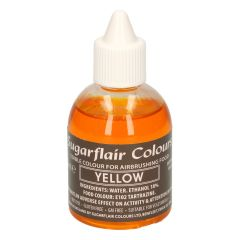 Sugarflair Airbrush Colouring -Yellow- 60ml