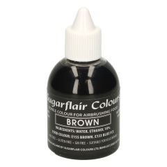 Sugarflair Airbrush Colouring -Brown- 60ml