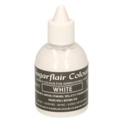 Sugarflair Airbrush Colouring -White- 60ml
