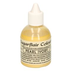 Sugarflair Airbrush Colouring -Pearl Ivory- 60ml