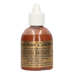 Sugarflair Airbrush Colouring -Golden Bronze- 60ml