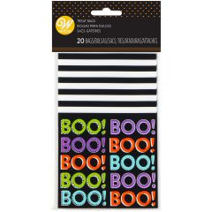 Wilton Mini Treat Bag Boo pk/20