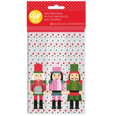 Wilton Mini Treat Bags Nutcracker pk/20