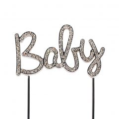 Cake Star Cake Topper Diamante Baby