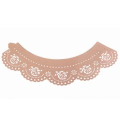 PME Cupcake Wrappers Rose Pink pk/12
