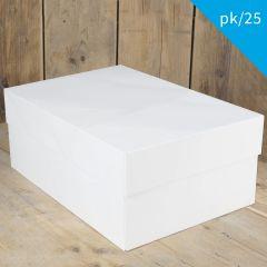 FunCakes Cake Box - White - 40x30x15cm- pk/25