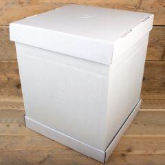 FunCakes Cake Box - White - 52x52x70cm- pk/1