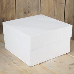 FunCakes Cake Box - White - 25x25x15cm- pk/1