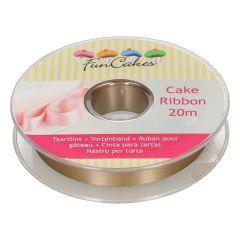 FunCakes Cake Ribbon -Gold- 15mmx20m