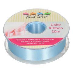 FunCakes Cake Ribbon -Blue- 25mmx20m