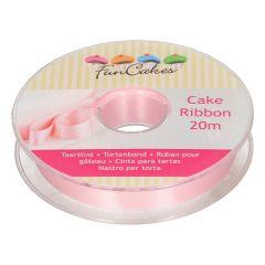 FunCakes Cake Ribbon -Pink- 15mmx20m