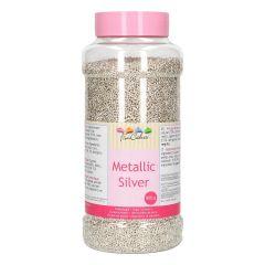 FunCakes Fideos de Azúcar -Metallic Silver- 800g BBD