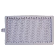 Karen Davies Silicone Mould - Chunky Knit