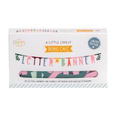 ALLC Letter Banner Boho Chic Set/147