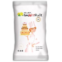 Smartflex Fondant White Velvet Lemon 1kg
