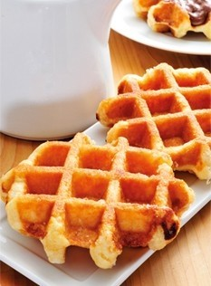 Belgian waffles now home made