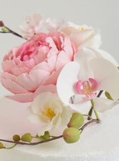 Fleur en sucre