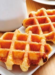 Crunchy waffles