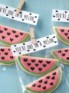 One in a melon cookies